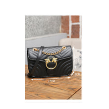 Load image into Gallery viewer, Women's Buttons PU(Polyurethane) / PU Crossbody Bag Solid Color Black / Red / Fall & Winter