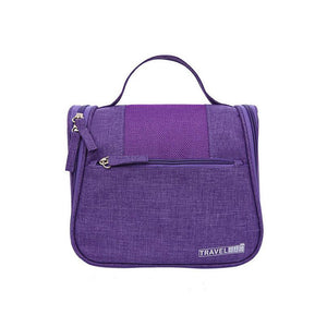 Oxford Cloth Zipper Carry-on Bag Solid Color Daily Gray / Purple / Fuchsia / Fall & Winter