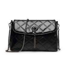 Load image into Gallery viewer, Women's Tassel Polyester / PU Crossbody Bag Lattice Black / Fall & Winter