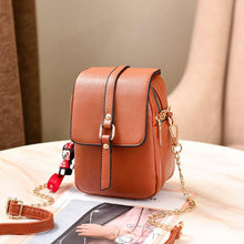 Load image into Gallery viewer, Women's PU Crossbody Bag Solid Color Black / Orange / Red / Fall & Winter
