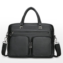 Load image into Gallery viewer, Men's Briefcase PU(Polyurethane) Solid Color Black / Coffee / Fall & Winter
