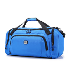 Load image into Gallery viewer, Zipper Travel Bag Solid Color Solid Color Oxford Cloth Nylon Practice Dark Blue / Purple / Sky Blue / Unisex / Fall & Winter