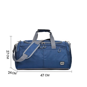 Zipper Travel Bag Color Block Color Block Oxford Cloth Polyester Daily Dark Blue / Purple / Sky Blue / Unisex / Fall & Winter
