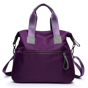 Women's Bags Nylon Tote for Event / Party / Formal / Outdoor Black / Red / Purple