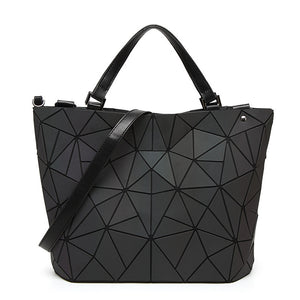 Women's Zipper / Chain PU(Polyurethane) / Synthetic / PU Tote Color Block Black