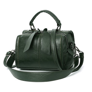Women's Zipper PU(Polyurethane) / PU Top Handle Bag Solid Color Black / Camel / Wine / Fall & Winter