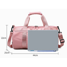 Load image into Gallery viewer, Waterproof Oxford Cloth Zipper Travel Bag Solid Color Practice Black / Purple / Pink / Unisex / Fall & Winter
