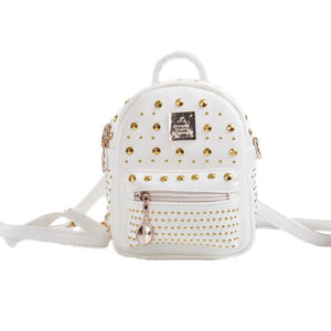Girls' Zipper PU(Polyurethane) / PU Kids' Bag Geometric Pattern Black / White / Blushing Pink / Fall & Winter