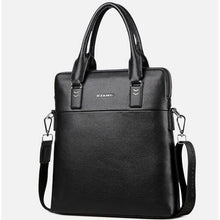 Load image into Gallery viewer, Men's Zipper Polyester / PU(Polyurethane) / PU Briefcase Solid Color Black / Brown / Blue / Fall & Winter