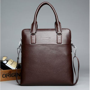 Men's Zipper Polyester / PU(Polyurethane) / PU Briefcase Solid Color Black / Brown / Blue / Fall & Winter