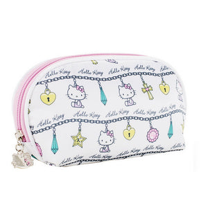 Polyester Pattern / Print / Zipper Cosmetic Bag Daily White