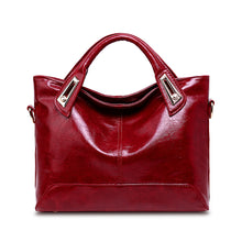 Load image into Gallery viewer, Women's PU Top Handle Bag Solid Colored Black / Brown / Wine / Fall & Winter