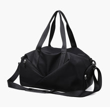 Load image into Gallery viewer, Zipper Travel Bag Solid Color Solid Color Oxford Cloth Synthetic Practice Black / Pink / Unisex / Fall & Winter