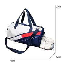 Load image into Gallery viewer, Zipper Travel Bag Color Block / Letter Color Block Oxford Cloth Nylon Daily Red / Dark Blue / Pink / Unisex / Fall & Winter