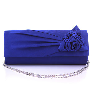 Women's Evening Bag / Cover Wedding Bags Silk Green / Blue / Light gray