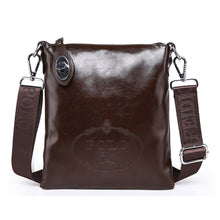 Load image into Gallery viewer, Men's PU Crossbody Bag Solid Colored Black / Brown / Blue / Messenger