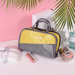 Toiletry Bag / Cosmetic Bag / Travel Toiletry Bag Travel Storage / Luggage Accessory / Toiletries Camping / Hiking / Caving / Everyday Use / Portable Terylene Camping / Hiking / Caving / Everyday Use