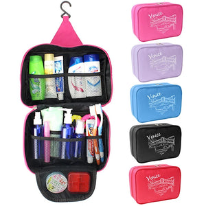 Travel Bag / Travel Organizer / Cosmetic Bag Large Capacity / Waterproof / Moistureproof for Clothes Fabric 25*17*8.5 cm Solid Colored Travel