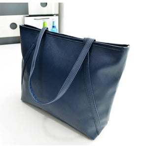 Women's Bags PU Tote for Formal Black / Red / Blue