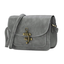 Load image into Gallery viewer, L.WEST® Women's Buttons Crossbody Bag PU(Polyurethane) Gray / Brown / Army Green