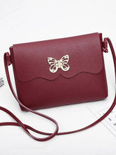 Load image into Gallery viewer, Women's Bow(s) Shoulder Messenger Bag PU(Polyurethane) Blushing Pink / Gray / Wine