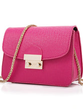 Load image into Gallery viewer, Women's Crossbody Bag PU(Polyurethane) Solid Colored Purple / Yellow / Fuchsia / Messenger