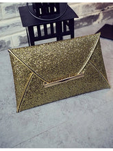 Load image into Gallery viewer, Women's Pocket Clutch PU(Polyurethane) Champagne / Gold / Black