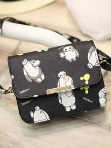 Women's Embossed Shoulder Messenger Bag PU(Polyurethane) Floral Print White / Black / Black / White