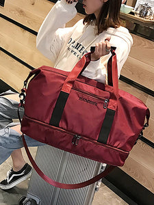 Zipper Travel Bag Solid Color Solid Color Oxford Cloth Daily Red / Gray / Pink / Fall & Winter