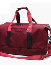 Load image into Gallery viewer, Zipper Travel Bag Solid Color Solid Color Oxford Cloth Daily Red / Gray / Pink / Fall & Winter