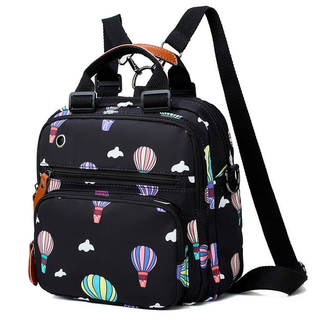 Baby Diaper Bag Mummy Maternity Travel Balloon Printing Backpack Large Capacity Newborn Nursing Milk Bottle Keep Warm Bag