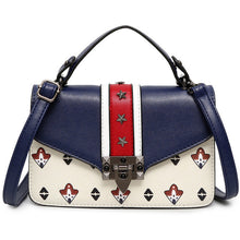 Load image into Gallery viewer, Rivet Decoration Louis Messenger Bag Retro Lock Buckle Flap Bag Designer Delicate Leather
