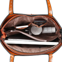 Load image into Gallery viewer, Retro Shoulder Messenger Bag Simple Oil Wax Leather Tote Bag