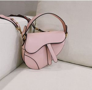 Women's Famous Designer Saddle Bag Shoulder Bag Luxury Handbag Crossbody For Women PU Leather Messenger Bags