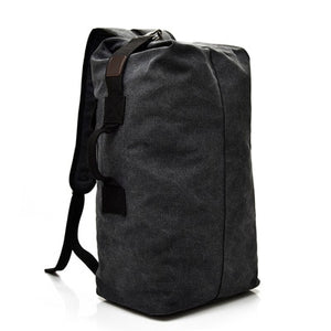 Large Capacity Rucksack Man Travel Bag Mountaineering Backpack Male Luggage Boys Canvas Bucket