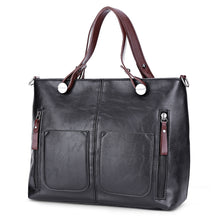Load image into Gallery viewer, Vintage PU Shoulder Bag Female Causal Tote for Daily Shopping