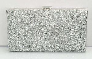 Women Evening Clutch Bag Diamond Sequin Clutch Female Crystal Day Clutch Wedding Purse Party