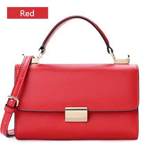 Load image into Gallery viewer, Sendefn Handbag Women Leather Handbags Mini Tote Bag With Zipper Messenger