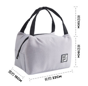 Portable Lunch Bag Thermal Insulated Lunch Box Tote Cooler Bag Bento Pouch Lunch Container School Food Storage Bags