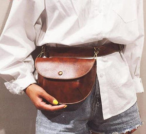 Fashion Leather Belt Bag