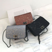 Load image into Gallery viewer, Women Fashion Sequins Single Chain Strap Crossbody Shoulder Messenger Flap Bags
