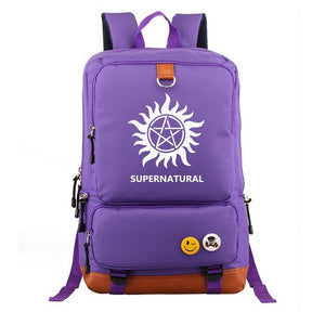 Supernatural Backpack for Women Men Bags