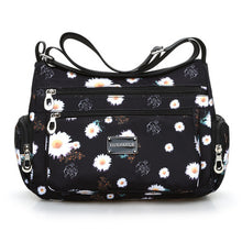 Load image into Gallery viewer, Floral Shoulder Bag Rural style Fashion Women Bag European and American style Vintage Bag Lightweight More Zippers Messenger Bag