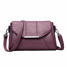 Load image into Gallery viewer, Soft Crossbody Bags For Women Pu Leather Handbags Designer Women Shoulder Bags High Quality Solid Women Messenger Bags