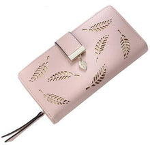 Load image into Gallery viewer, Women Wallet Leather Card Coin Holder Money Clip Long Phone Clutch Photo High Quality Photo Fashion Cash Pocket Female Purse