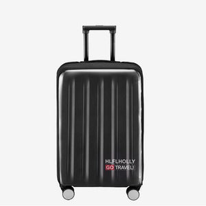 PVC(PolyVinyl Chloride) Luggage Cover Zipper Black / Army Green / Dark Red / Unisex