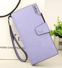 Load image into Gallery viewer, Fashion Women's Handbag Long Wallet Zipper Pocket Women's Purse Coin Card Holder Clutch Bifold Slim Purse Coin Female