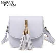 Load image into Gallery viewer, Small Chains Bag Women Candy Color Tassel Messenger Bags Female Handbag Shoulder Bag Bolsa Feminina