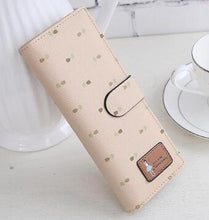 Load image into Gallery viewer, 55card women female leather wallet business id credit card holder case passport cover wallets card holder carteira feminina