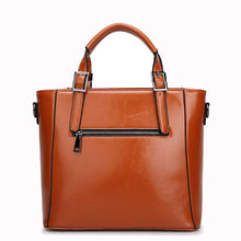 Load image into Gallery viewer, Fashion Designer Women Handbag Female PU Leather Bags Handbags Ladies Portable Shoulder Bag Office Ladies Hobos Bag Totes